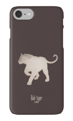 iphone cases skins wallets tough snap Samsung galaxy -bali tiger-extinct endangered tiger-Sumatran Siberian Caspian Javan subspecies Asia Indonesian Islands hunting poaching -Panthera tigris balica Balinese tiger samong harimau Indonesia