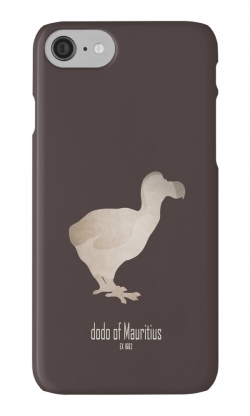 iphone cases skins wallets tough snap Samsung galaxy -cute dodo of mauritius-extinct animals species names list-emblematic logo birds-Raphus cucullatus flightless bird 17th century endemic island of Mauritius gizzard stones hunting invasive predator