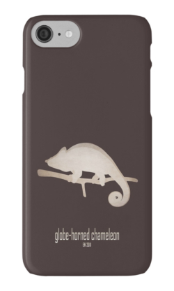 iphone cases skins wallets tough snap Samsung galaxy -globe-horned chameleon-IUCN red list animals-vulnerable threatened critically endangered species lists names categories information-flat-casqued chameleon Calumma globifer Madagascar endemic forest illegal trade habitat loss