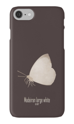 iphone cases skins wallets tough snap Samsung galaxy -madeiran large white butterfly-endemic species normal species-islands insects butterflies logo drawing-Pieris brassicae wollastoni European laurel forest last seen 1970s island of Madeira