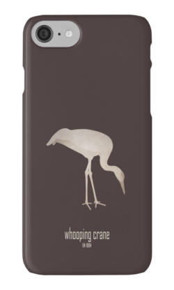 iphone cases skins wallets tough snap Samsung galaxy -whooping crane-wildcare foundation-wildlife conservation programme efforts logo picture slogan-Grus americana North America migratory populations endangered unregulated hunting habitat loss conservation efforts USFWS recovery plans