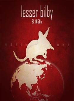 extinct critically endangered animals of Australia desert marsupial nocturnal foreign predators
