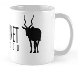 addax antelope mug