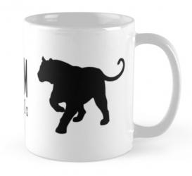 bali tiger mug