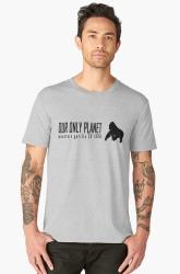 big apes silver gorilla t-shirt