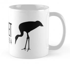 crane whooping american wildlife mug