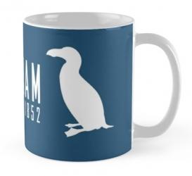 great auk penguin mug