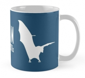 guam flying fox fruit bat mug