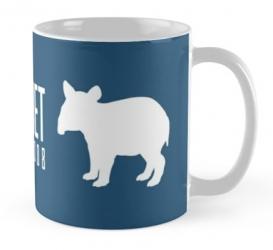 indian malayan tapir mug