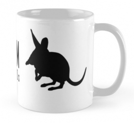 lesser bilby australian desert wildlife mug
