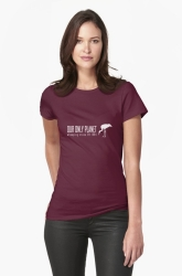 migrating cranes t-shirt