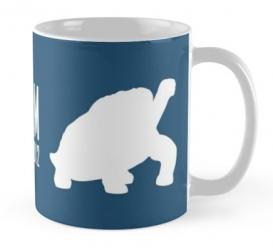 pinta island tortoise turtle mug