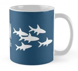 siamese bala shark aquarium mug