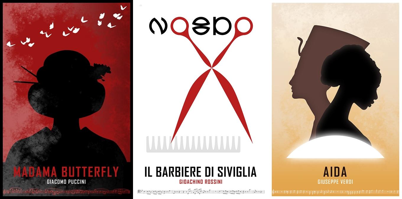 minimalist-opera-poster-design