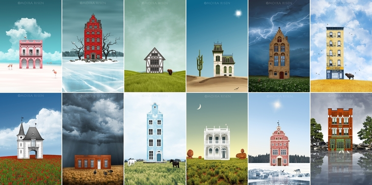 colorful-houses-lonely-houses-around-the-world-Runaway-Houses-by-Moira-Risen