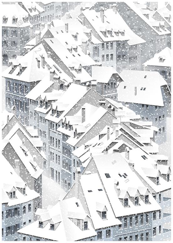 christmas tale feeling snow wonderland wall art winter decoration artwork print gift present