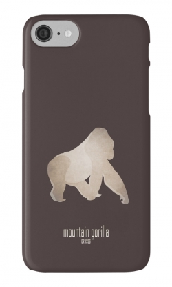 iphone cases skins wallets tough snap Samsung galaxy - gorilla-most endangered threatened vulnerable animals species-Africa tropical forest eastern western lowland mountain gorillas great apes critically poaching conservation programme-Gorilla beringei eastern subspecies Central Africa cross river conservation efforts Virunga National Park illegal trade