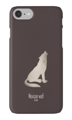 iphone cases skins wallets tough snap Samsung galaxy -mexican wolf-endangered species act-wildlife conservation wildcare US environmental laws emblematic animal logo-lobo Canis lupus baileyi grey wolf subspecies North America symbolic animal Pre-Columbian Mexico endangered species act USFWS hunting trapping poisoning captive breeding program recovery plan