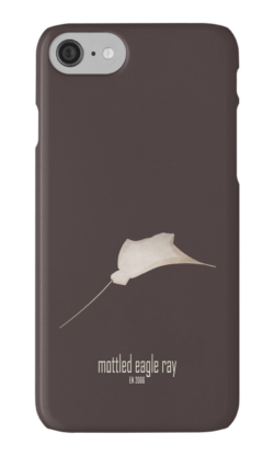 iphone cases skins wallets tough snap Samsung galaxy -mottled eagle ray-extinct endangered sea ocean aquatic animals-commercial fishing Pacific Indian Atlantic deep waters-Aetomylaeus maculatus inshore Indo-West Pacific open seas estuarine waters endangered by fishing methods spotted eagle ray