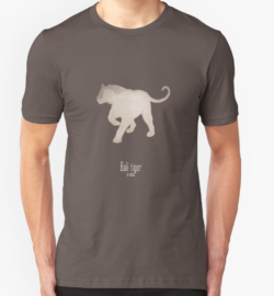 t-shirt men mens womens woman man babies kids boys girls clothes apparel-bali tiger-extinct endangered tiger-Sumatran Siberian Caspian Javan subspecies Asia Indonesian Islands hunting poaching -Panthera tigris balica Balinese tiger samong harimau Indonesia