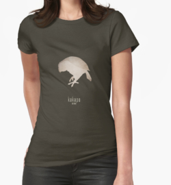 t-shirt men mens womens woman man babies kids boys girls clothes apparel-kakapo-critically endangered animals species names list-New Zealand endemic species recently discovered-night parrot owl parrot Strigops habroptilus large flightless nocturnal ground-dwelling bird endemic maori culture IUCN critically predators conservation recovery program