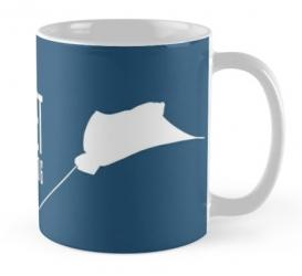 eagle ray manta mug