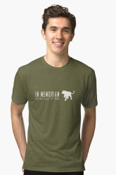 endangered tiger subspecies t-shirt