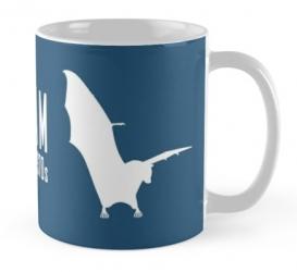 guam flying fox fruit bat mug