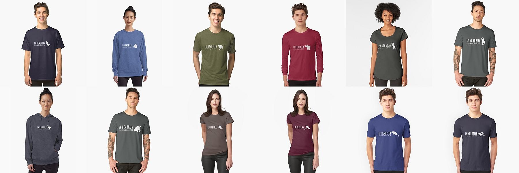 save planet wildlife animals earth t-shirt