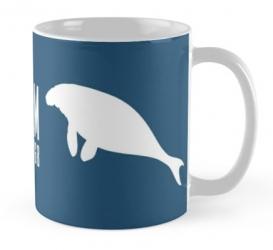 stellers sea cow whale mug