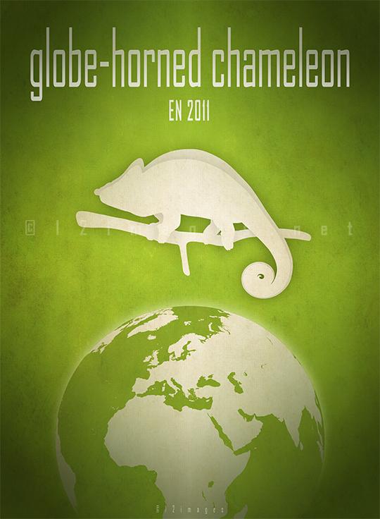 globe-horned-chameleon-Calumma-globifer-Madagascar-endangered