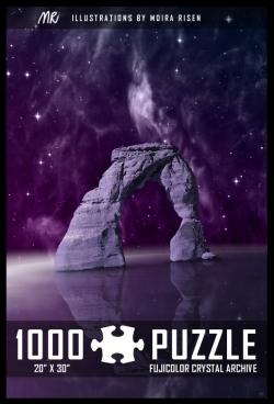 1000-piece-puzzle-fantasy-portal-starry-sky