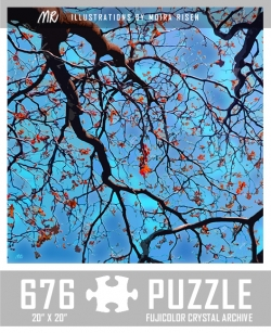 challenging-jigsaw-puzzles-abstract-nature-tree-canopy-against-blue-sky
