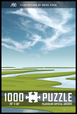 1000-piece-jigsaw-puzzle-wetland-green-islands-blue-sky