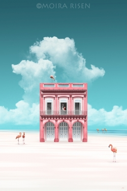 Pink-House-on-Flamingo-Beach