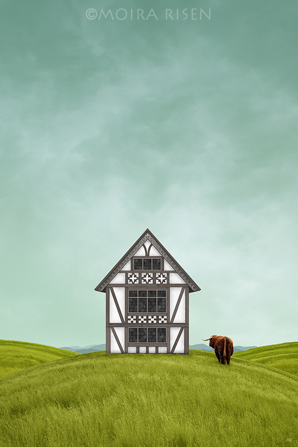 Tudor-style-half-timbered-house-from-England